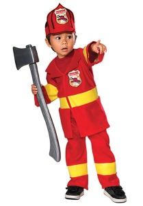 Toddler Firefighter